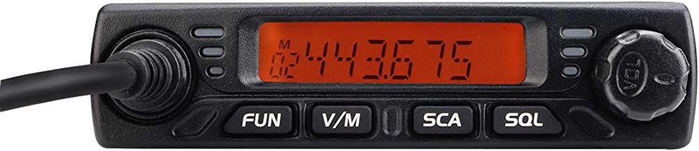 Retevis RT98 Mobile Radios Mini Amateur Transceiver 15W UHF Lock LCD 199 Ch 51 CTCSS 1024 DCS Car Ham Mobile Two Way Radio with Speaker Mic (1 Pack)