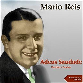 Adeus Saudade (78RPM Recordings 1934 - 1935)