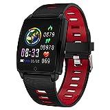 Padgene SmartWatch Reloj Inteligente IP67 Impermeable Bluetooth Pulsera Actividad Deportiva con Pulsómetro Monitor de Sueño, Música, Notificación de...
