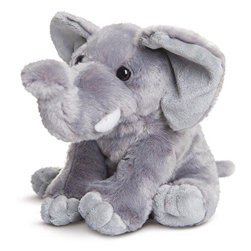 Destination Nation - Elefante de Peluche, 24 cm, Color Gris (Aurora World 19266)