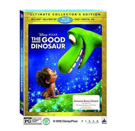 The Good Dinosaur - Exclusive Lenticular Cover and Bonus Content (3D + Blu-ray + DVD + Digital HD)