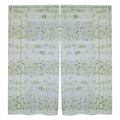 Telituny Blumendruck-100 x 200 cm...