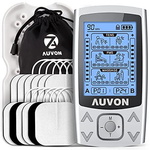 AUVON Dual Channel TENS EMS Unit