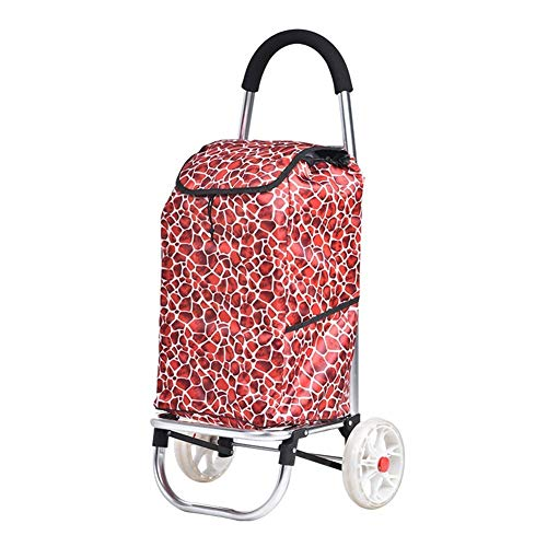 ZTMN Escalade Chariot Chariot Petit Chariot pliant Chariot Voiture bagages Chariot Portable...