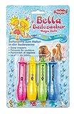 Heless 7000 - 4 Seifenmalstifte in pink, gelb, grün und blau, für abwaschbaren Malspaß und...