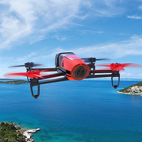 Parrot-Bebop-Red-14MP-Camera-Drone
