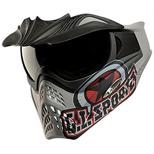 VForce Grill Paintballmaske 2015, G.I. Sportz Logo, grau
