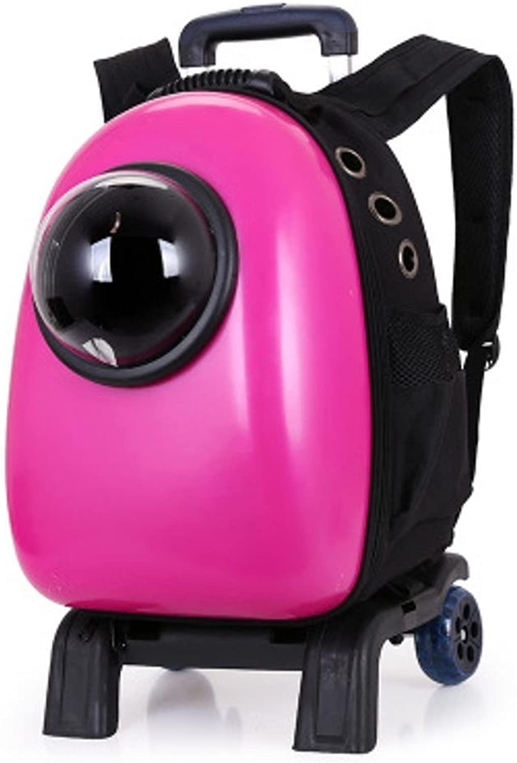 Daeou Pet Backpack Pet Bag Pet Space Pet Bag Breathable cat Backpack Out Rod Doggy Bag 3655l