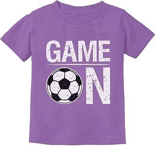 Tstars - Game On! Gift for Soccer Lover/Player Toddler Kids T-Shirt