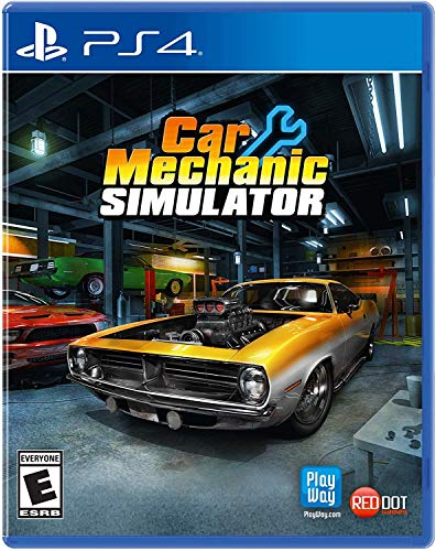 Maximum Family Games (world) Car Mechnic Simulator (Import Version: North America) - PS4