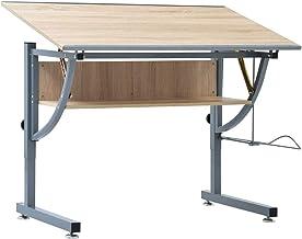Drafting Table Drawing Desk Art Hobby Height Adjustable Tiltable Office Student