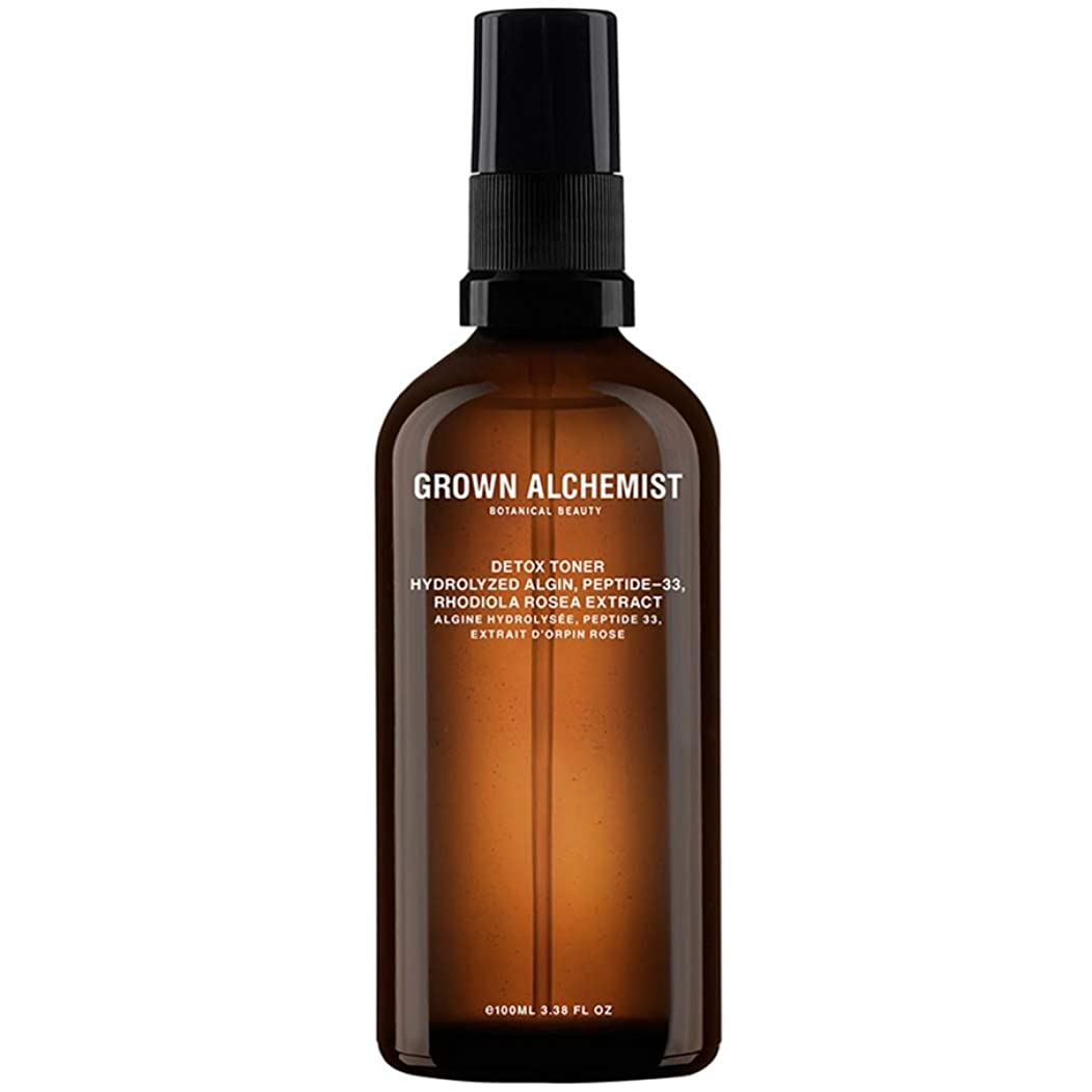 賃金進行中シットコムGrown Alchemist Detox Toner - Hydrolyzed Algin, Peptide-33 & Rhodiola Rosea Extract 100ml/3.38oz並行輸入品