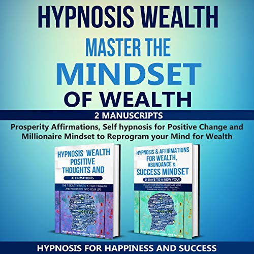 Couverture de Hypnosis Wealth Master the Mindset of Wealth