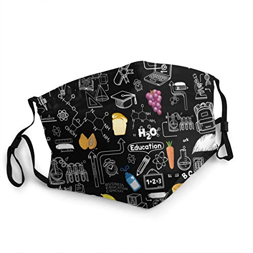 Complex Carbohydrates Funny Food Simple Seamless Face Face Guard Mouth Co-Ver Bandana Neck Gaiter Cool Lightweight