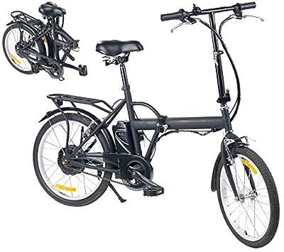 """eRädle E Bike: Klapp-Pedelec 20"""" mit Bürstenlosem Motor, 24-V-Akku (4,4 AH), 25 km/h"""