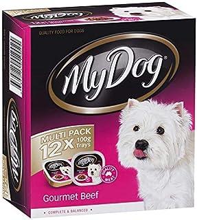 My Dog DMD100GBMX12 Gourmet Beef Dog Food 12-Trays Multipack 12 Pack Medium