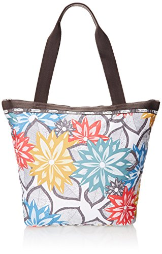 LeSportsac Hailey Tote Handbag, Caraway Floral Light, One Size