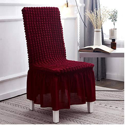 Stoelovertrek stoelhoes blaas rooster elastische stoelhoezen spandex stoelhoezen voor keuken/eetkamer bureaustoelhoes met rug rood