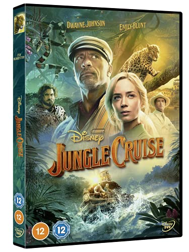 Disney's Jungle Cruise DVD [2021]