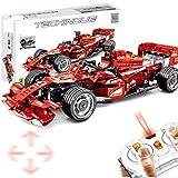 GRTVF Control Remoto Carry Car, RC Sports Car Kits Building Block Coche Modelo de Kits para Adultos para Construir, Regalo de Juguete de cumpleaños para niños de 8+ años, 585pcs