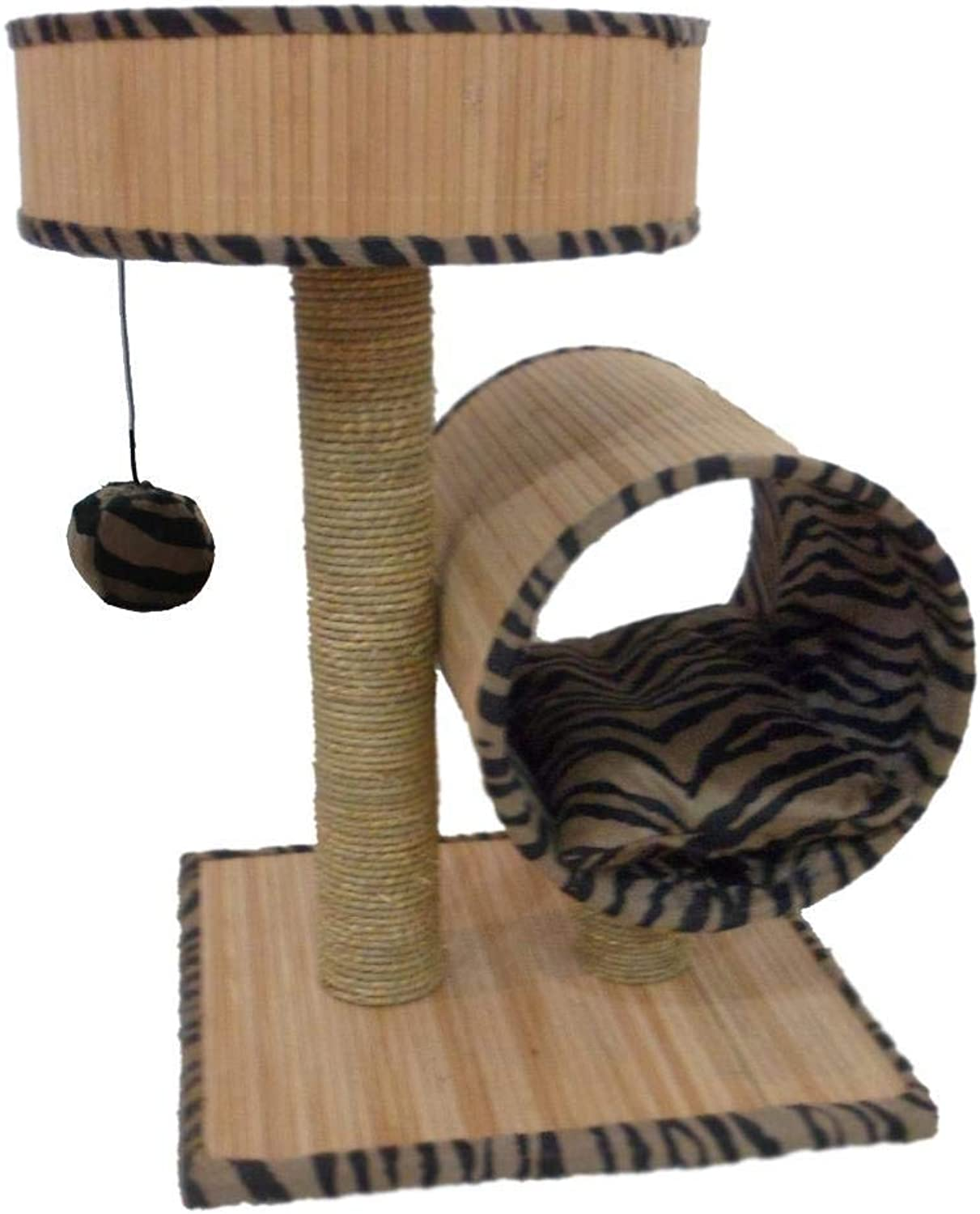 Hexiansheng Cat Climb Trees Kitten Cat Tree Pet 45  45  60cm
