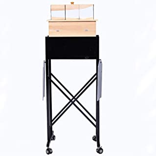 Enjoyer Tri-Section Illusion with Table and Carrying Case Magic Tricks Arm Magic Gimmick Stage Illusion Professional Magician Table