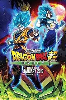 dragon ball super movie poster 2018