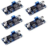 HiLetgo 5pcs LM2596 3A Adjustable Step Down Module DC-DC Buck Converter Power Supply Module Output 1.23V-30V