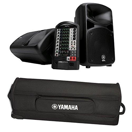 Find Bargain Yamaha STAGEPAS 400I Portable PA System with Yamaha YBSP400I Speaker Case