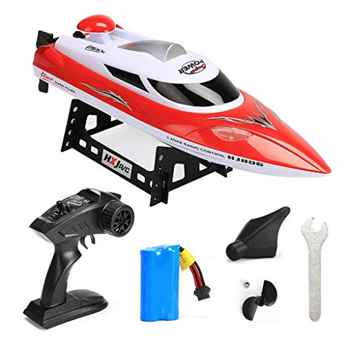 ZJL220 HJ806 RC Speed Boat 2.4GHz 4 Channel 35km/h Racing Remote Control Boat Toy Gift