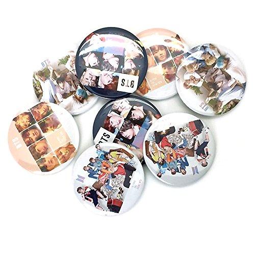 K-pop Boy Band Boy Group BTS Badge Button Pin : BTS (1pc Random)