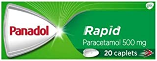 Panadol Rapid Paracetamol Pain Relief, 20 count