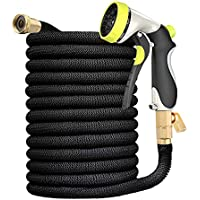 Strommi 50 Feet Expandable Garden Hose with 8 Function Nozzle