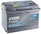 Alternative 1: EXIDE Premium Carbon Boost 77Ah – der Werkstatt-Liebling