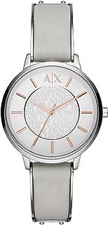 Armani Exchange Women's AX5311 White Leather Watch