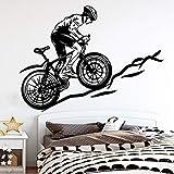 mlpnko Preciosa Bicicleta decoración del hogar acrílico decoración Sala de Estar Dormitorio Pegatina 57x77cm
