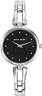 Pierre Casual Watch For Women Analog Stainless Steel - PC107582F01 (silver)