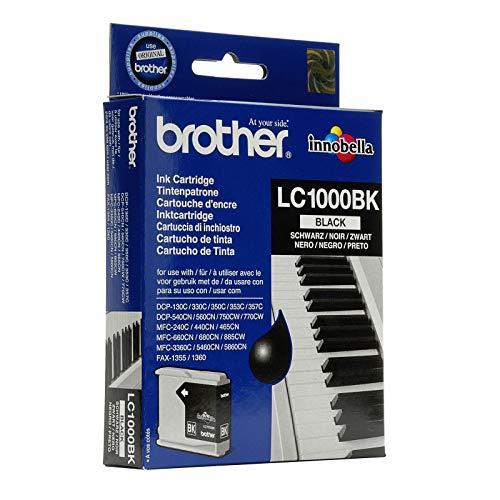 Brother LC-1000BK Druckerpatrone, Schwarz