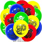 Baby Yoda Birthday Party Ballon - Miotlsy Star Wars Party Supplies Set 24 piezas BabyYoda Latex Ballon, Baby Yoda Party Ballon The Mandalorian Theme Decoraciones para fiestas de cumpleaños