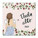 Calendario Ana Marín 2022 - Calendario 2022 pared - Calendario 16 meses - Calendario 2021 2022│ Calendario de pared 2021 2022 - Calendario mensual...