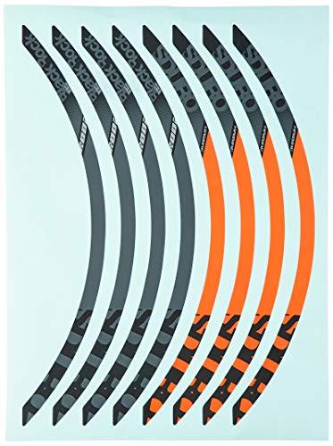 Winora Group 3050812825 Jantes pour Adulte décorées Gris/Rouge/Anthracite/Noir 27,5 Pouces