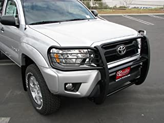 MaxMate Premium Black Grille Bumper Brush Guard Bull Bar #T75198 Custom Fit 05-15 Toyota Tacoma (Factory Skid Plate Need to Be Remove If Equipped)