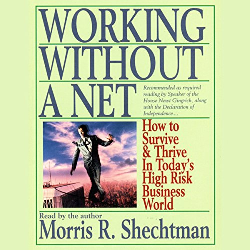 Working Without a Net audiobook cover art
