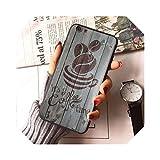 Coque de téléphone pour iPhone X, 8, 8 Plus, noir, 7, 7 Plus, 6, 6S, 12, mini 12 Pro, Max-1-Forfor...