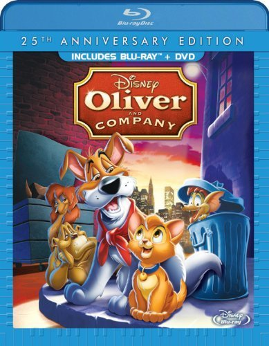 Oliver & Company: 25th Anniversary Edition (Blu-ray/ DVD Combo Pack) by Walt Disney Studios Home Entertainment