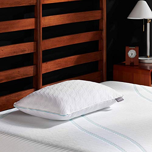 Tempur-Pedic TEMPUR-Adapt ProLo Pillow, King, White