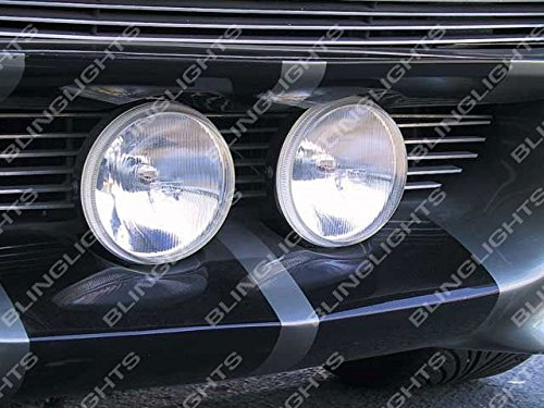 Grill Fog And Driving Lights Kit for Ford Mustang Eleanor Shelby GT-500 Fastback