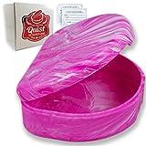 QUIST (TM) Orthodontic Retainer Case (Pink)