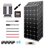 Renogy 400 Watts 12 Volts Monocrystalline Solar Premium Kit with 40A MPPT Controller