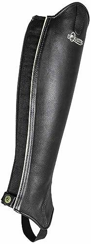 Equestro Mini-Chaps elasto en Cuir Mini-Chaps